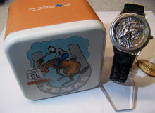Fossil Rodeo Watch Cowboy Bucking bronco Vintage Wristwatch