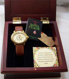 The Santa Clause 2 Watch Set Fossil Lmt. Ed. with Ornament Li-2067