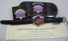 San Francisco 49ers Fossil Watch Superbowl XXIX Vintage Wristwatch