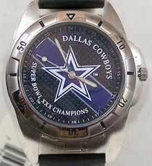 Dallas Cowboys Superbowl XXX Watch Fossil Super Bowl Mens Wristwatch