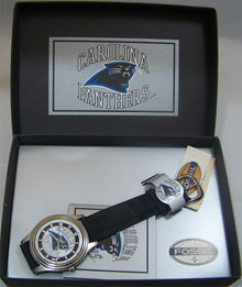 Carolina Panthers Fossil Watch 1993 Vintage Style Boxed Wristwatch
