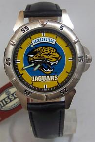 Jacksonville Jaguars Fossil Watch Jax Jags Mens Li-1721 1997 Vintage