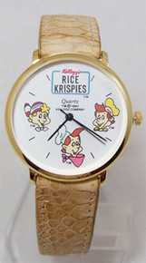 Kelloggs Rice Krispies Watch Snap Crackle Pop Novelty Wristwatch