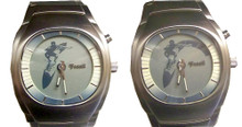 Fossil Surfer Watch Animation Surfer in Wave JR8287 Stainless