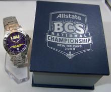 LSU Tigers BCS Championship Fossil Watch 2007 National Champions, New