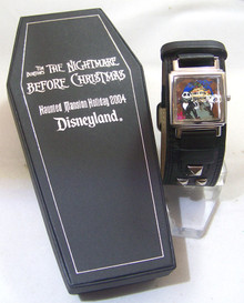 Nightmare Before Christmas Watch Disney Haunted Mansion Lmt. Ed. 200