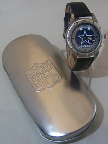 Dallas Cowboys Watch Fossil Mens Vintage 1997 Wristwatch Li-1712