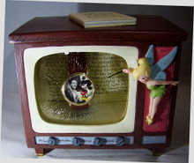 Walt Disney and Mickey Mouse Watch Set Wonderful World of Color T.V.