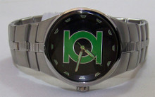 The Green Lantern Fossil Watch Emerald Gladiator Wristwatch LL1005