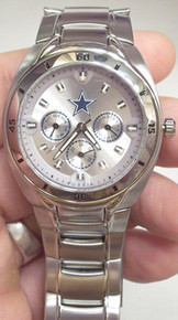 Dallas Cowboys Fossil Watch Mens Multifunction Wristwatch NFL1035