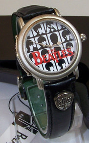 The Beatles Guitar Watch Hard Day's Night Wristwatch in Guitar Case
