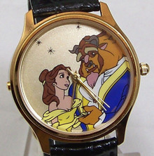 Beauty and the Beast Music Watch Disney Musical Melody Wristwatch