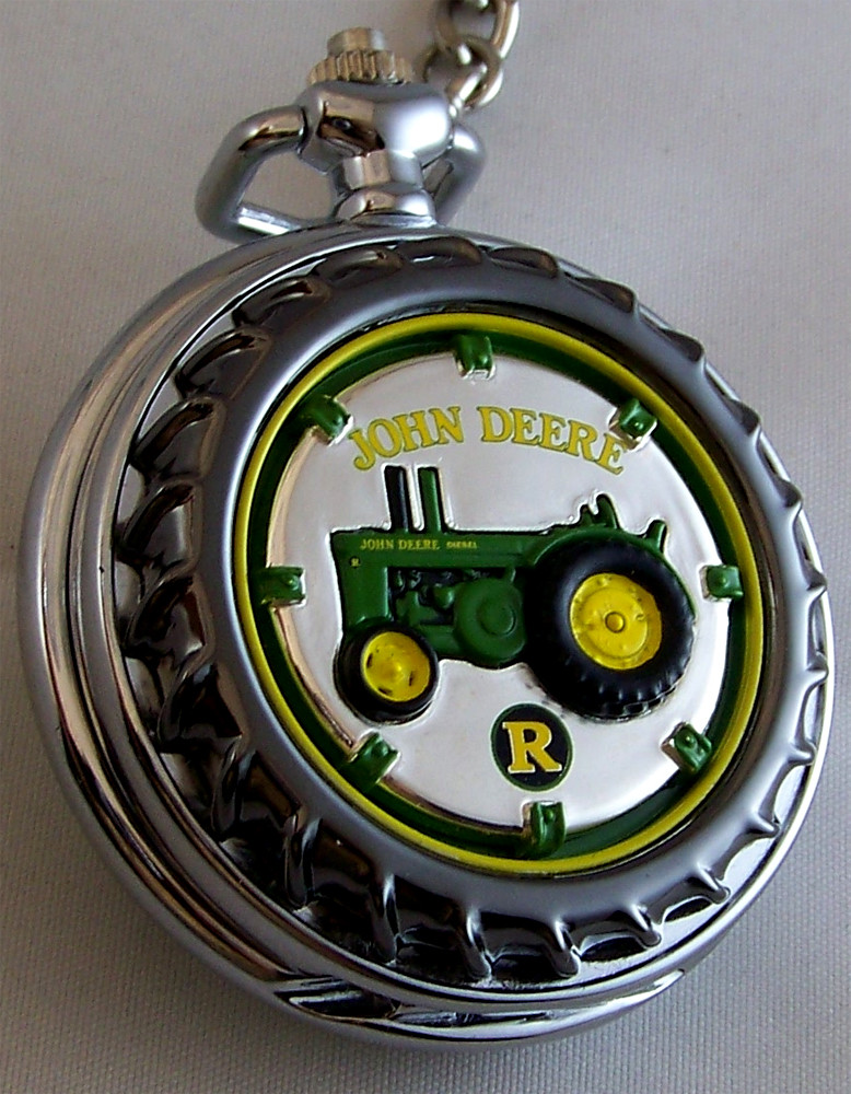 deere franklin mint pocket model r tractor le new