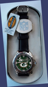 Green Bay Packers Fossil Mens Vintage Watch 1998 Wristwatch Li-1827