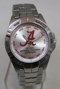 Alabama Crimson Tide Fossil Watch 1st 12 College Championships Watch