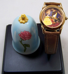 Beauty & The Beast Everlasting Time Watch Walt Disney Collectible