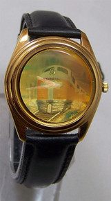 Fossil Train Watch Hologram image vintage 3D Wristwatch Collectors