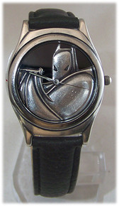 Batman Caped Crusader Watch Warner Bros. DC Comics Wristwatch Set