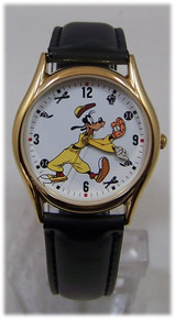 Goofy Backwards Watch Disney Channel Goofy Baseball Player Wristwatch
