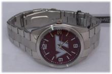 Virginia Tech Hokies Watch Game Time Mens Elite Wristwatch, New