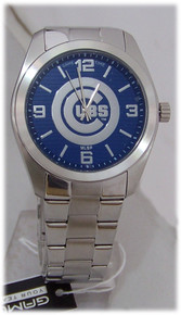 Chicago Cubs Watch Game Time Mens Elite MLB Wristwatch, New