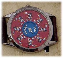 Mickey Mouse Watch Rare Scatter Ball Puzzle Novelty Disney Wristwatch