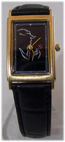 Beauty and The Beast Watch Broadway Musical Black LE Wristwatch