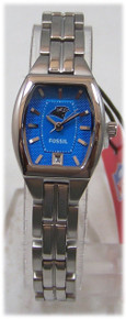 Carolina Panthers Fossil Watch Womens 3 Hand Date Wristwatch NFL1196