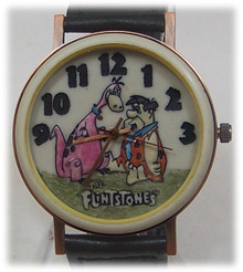 Fred Flintstone and Dino Fossil Watch Limited Edition Collector's Set