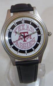Texas A&M Aggies Watch Fossil Mens Vintage 1993 Wristwatch Li-1200