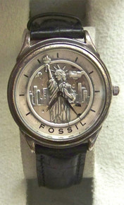 Fossil Statue of Liberty Watch Limited Edition Vintage Collectors Set