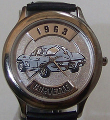 63 Corvette Watch Fossil Relic 1963 Chevrolet Corvette Car Wristwatch