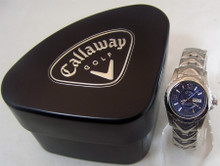 Callaway Golf Watch Womens Three Hand Day Date Environmental Award