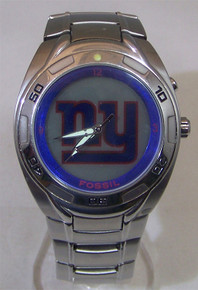 New York Giants Fossil Watch Mens Flashing logo Kaleido NFL1009