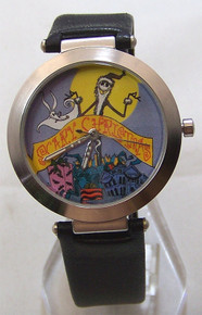 Nightmare Before Christmas Watch Jack Skellington and Zero Lmt Ed 250