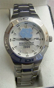 UNC Tarheels Fossil Watch Mens NCAA Basketball Champions 2009