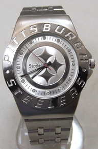 Pittsburgh Steelers Watch Avon Release 2007 Wristwatch Mens