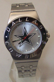 Dallas Cowboys Watch Mens Avon Release 2007 Stainless Wristwatch New