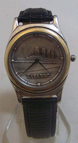 Fossil RMS Titanic Watch Vintage Collectors ship Lmtd Ed Wristwatch