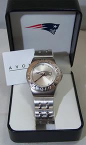New England Patriots Watch Avon Release 2007 Wristwatch Mens
