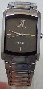 Alabama Crimson Tide Fossil Watch Mens Dress Regis Li2797 Wristwatch