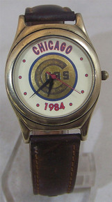 Chicago Cubs Fossil Watch 1984 National League East Champions Li-1133