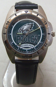 Philadelphia Eagles Fossil Watch Mens Vintage 1996 Wristwatch