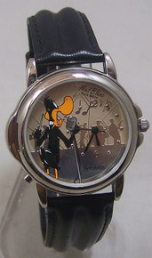 Daffy Duck Watch Mel Blanc Voice Wristwatch Looney Tunes Armitron