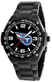 Tennessee Titans Watch Mens Black SS Game Time Gladiator Wristwatch