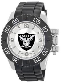Oakland Raiders Watch Game Time Beast Mens Black Wristwatch NFL-BEA-OAK