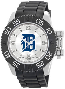 Detroit Tigers Watch Game Time Beast Mens Black Wristwatch MLB-BEA-DET