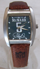 McNabb Philadelphia Eagles Watch Commemorative NFL Players Wristwatch