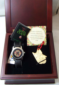 Santa Clause 2 Watch Set Fossil LE 500 Pulsing Rainbow with Ornament