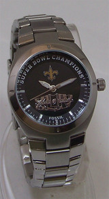 New Orleans Saints Fossil Watch Womens Super bowl XLIV